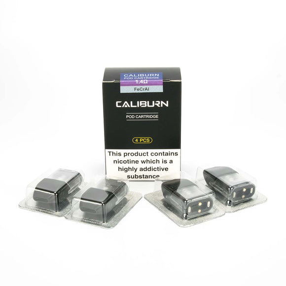 Uwell - CALIBURN/KOKO POD CARTRIDGES (4-Pack)