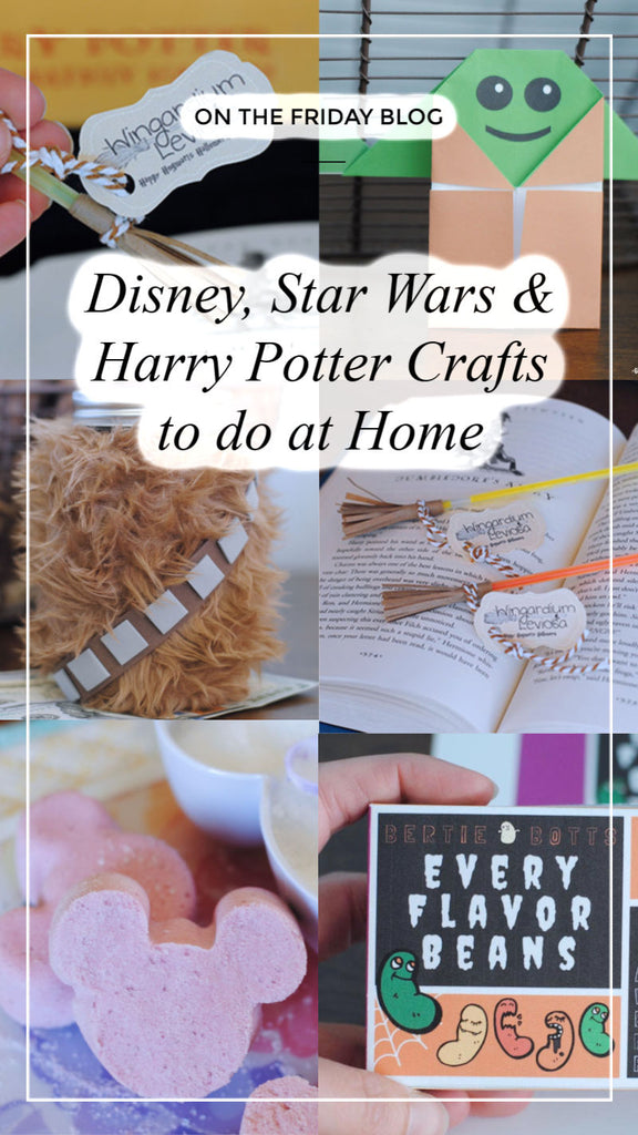 Disney, Star Wars and Harry Potter Crafts to Do at Home