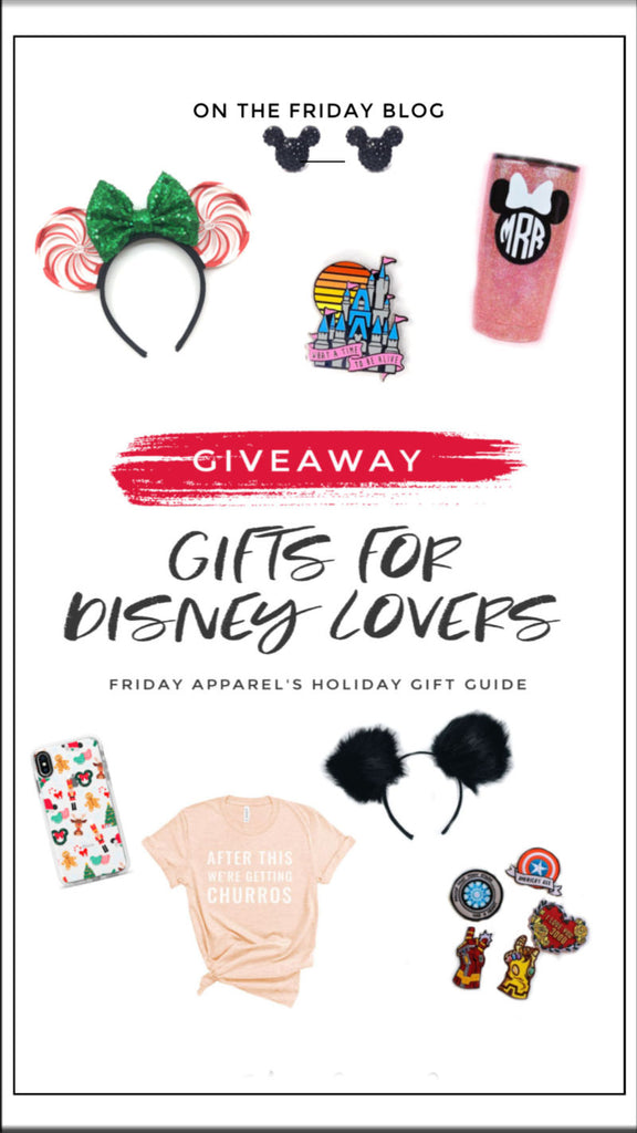 "2019 Holiday Gift Guide 3 of 3 ""Gifts for Disney Lovers"" and Giveaway!"
