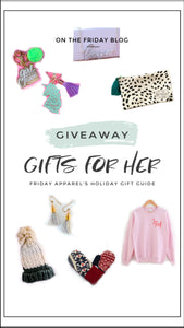 "2019 Holiday Gift Guide 1 of 3 ""Gifts for Her"" and Giveaway!"