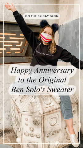 Happy 1 Year Anniversary to the Original Ben Solo's Sweater