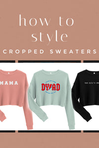 How to Style: Cropped Sweaters