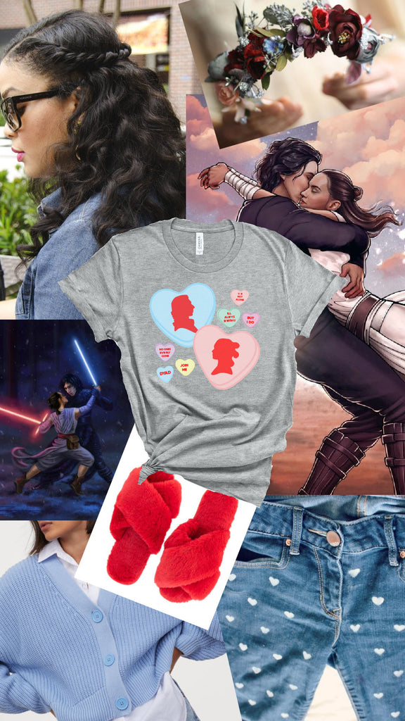 friday apparel the friday blog star wars valentines day outfit ideas ben solo the force is female baby yoda grogu reylo shop