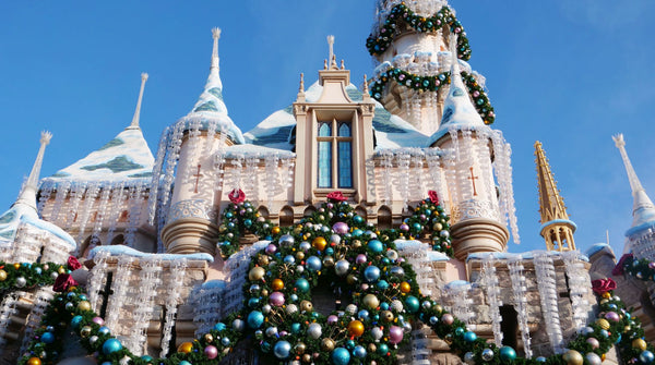 disneyland holiday castle
