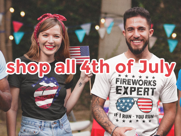 friday apparel 4th of July shop clothing women's boutique matching family shirts