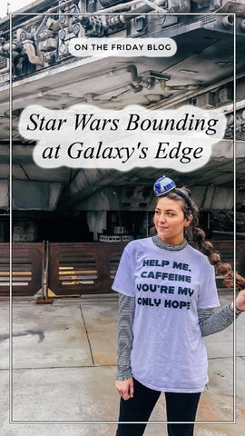 friday apparel Star Wars bound costume cosplay galaxys edge outfits