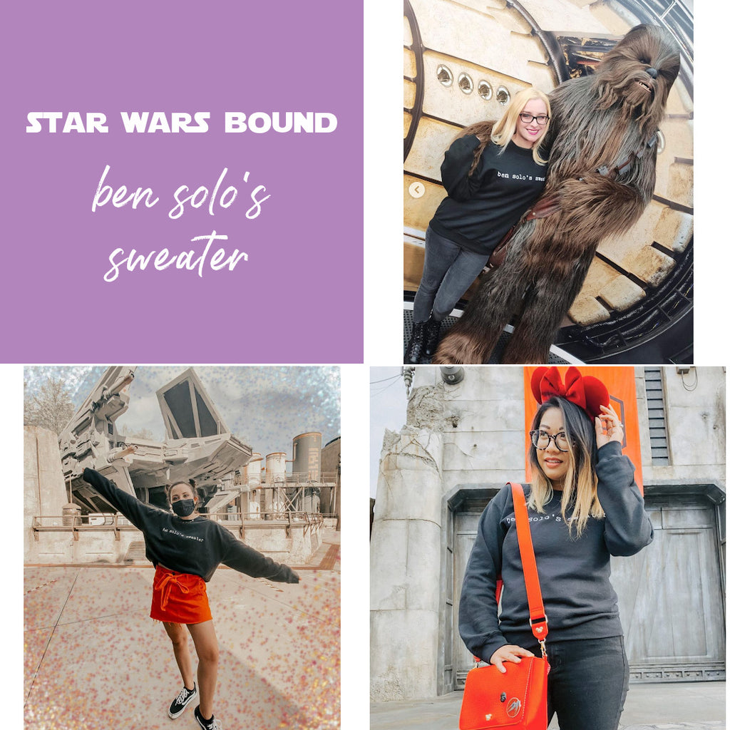 friday apparel blog star wars bound ben solos sweater outfits