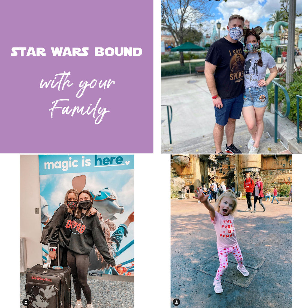Star Wars bound galaxys edge outfit family matching friday apparel blog shop