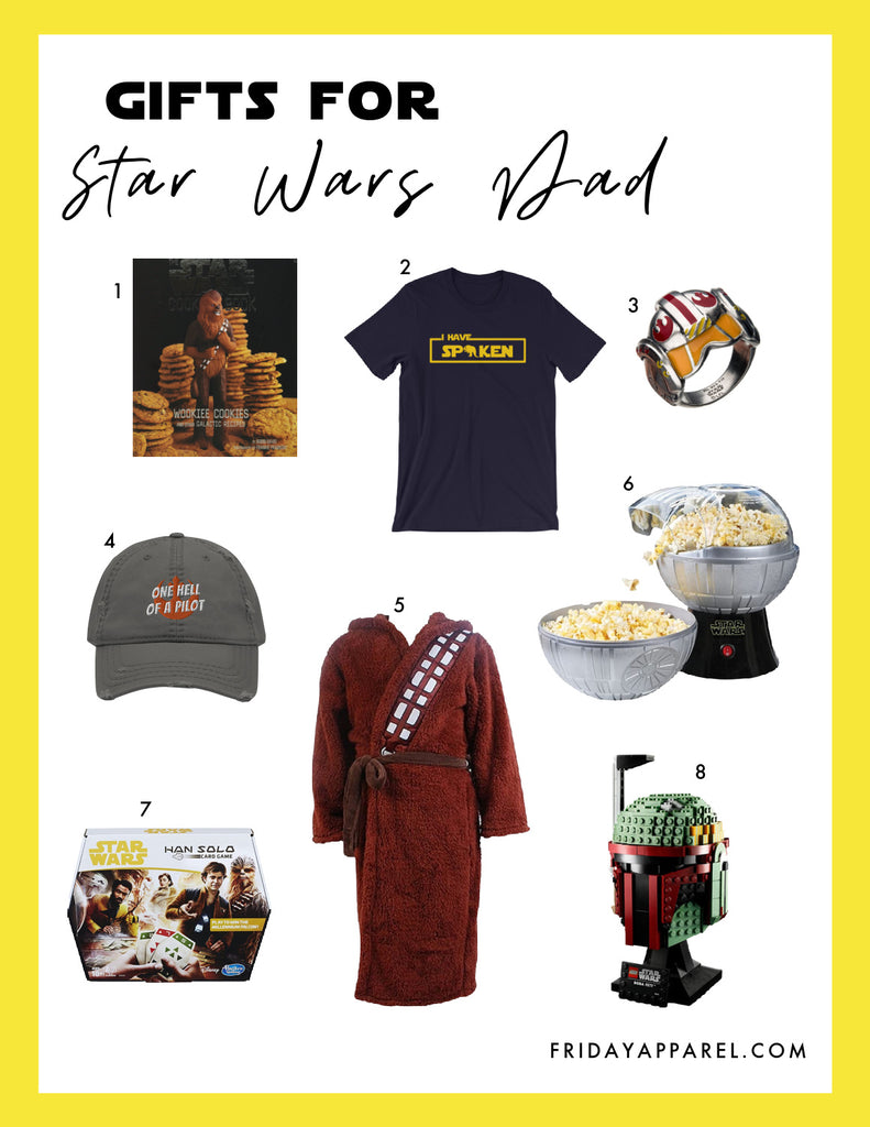 friday apparel Star Wars gift guides for dad men