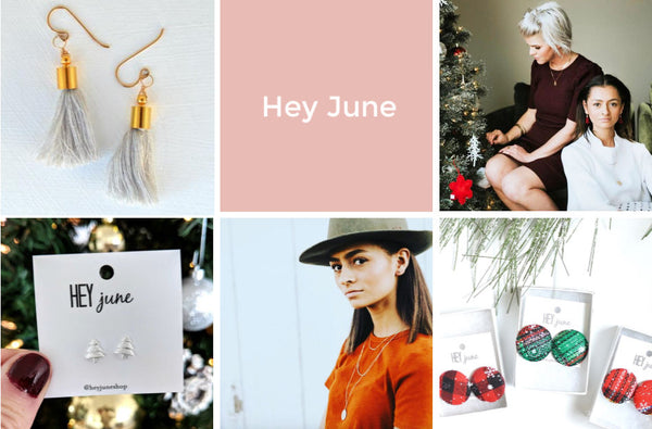 hey June earrings Friday apparel holiday gift guide