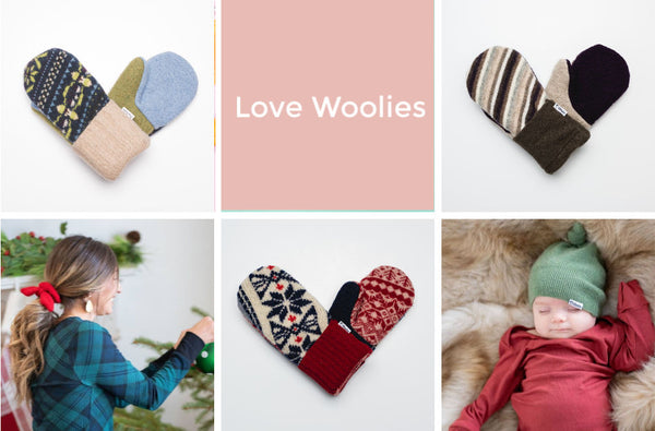 love woolies handmade wool mittens Friday apparel holiday gift guide