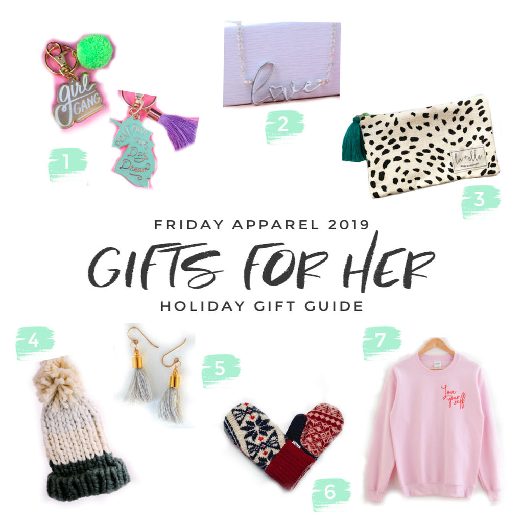 Friday apparel 2019 holiday gift guide
