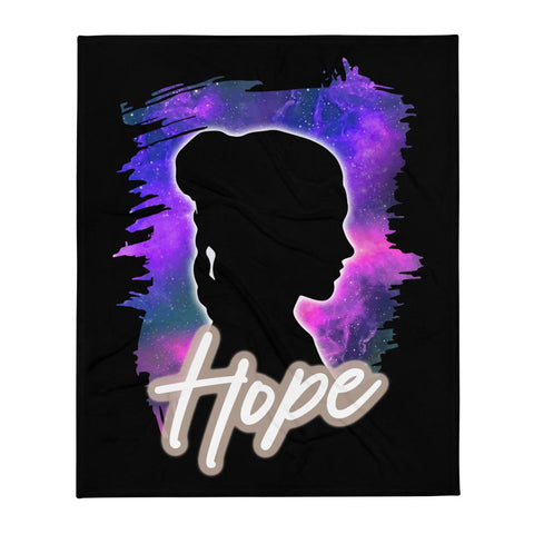 Friday apparel Star Wars inspired shirt Leia means hope galaxy stars Princess Leia general organa shop force is female carrie fisher blanket