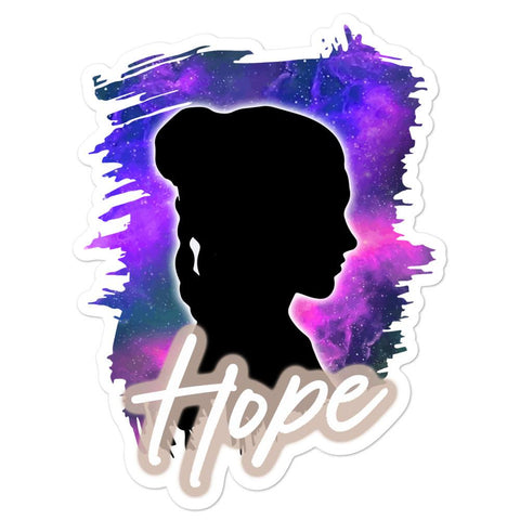 Friday apparel Star Wars inspired shirt Leia means hope galaxy stars Princess Leia general organa shop force is female carrie fisher sticker