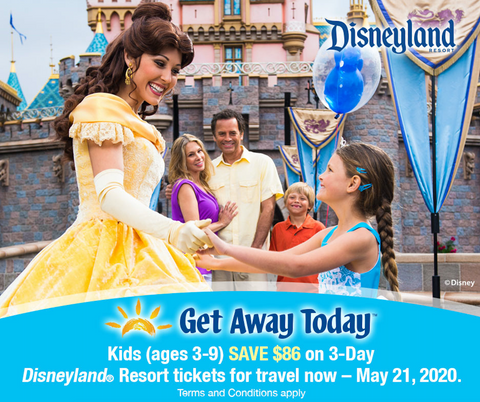 get away today discount Disneyland tickets the Friday blog