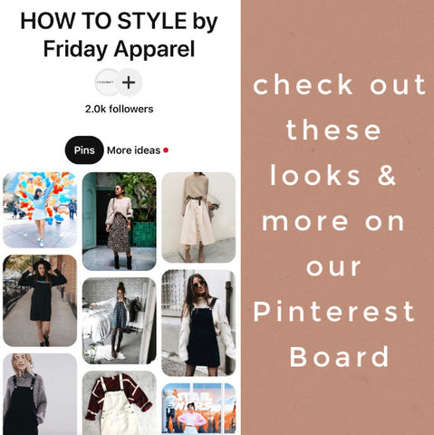 how to style sweaters and skirts Pinterest board the Friday blog Friday apparel
