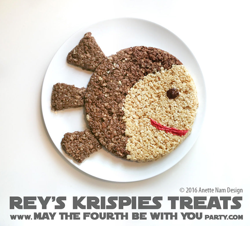 Reys Krispie treats Star Wars food ideas may the 4th be with you recipe snacks Friday apparel clothing shop