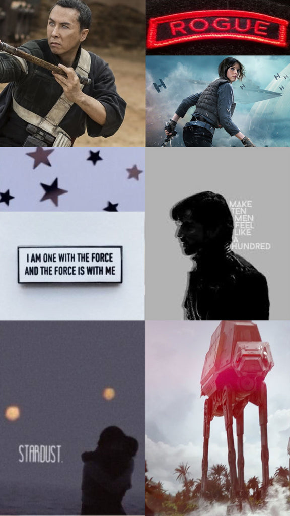 rogue one Star Wars story aesthetic wallpaper background phone Friday apparel shop