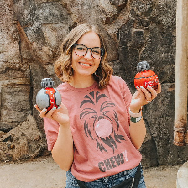 Friday apparel chewy bubble trouble tee Star Wars Disneyland galaxy's edge