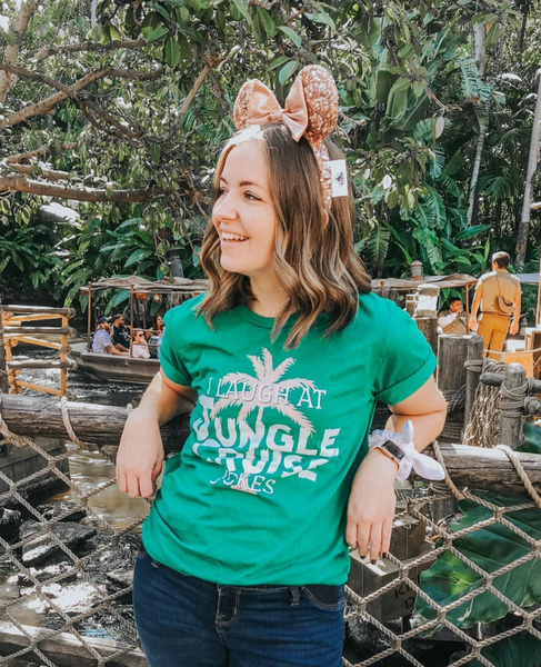 I Laugh At Jungle Cruise Jokes Tee