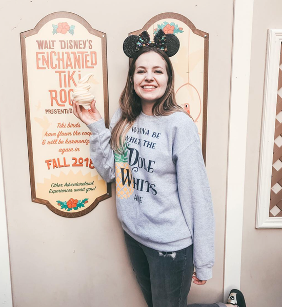 I Wanna Be Where The Dole Whips Are Sweatshirt