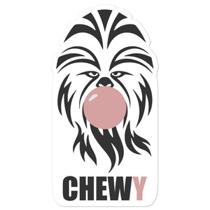 Chewy Bubble Trouble Sticker