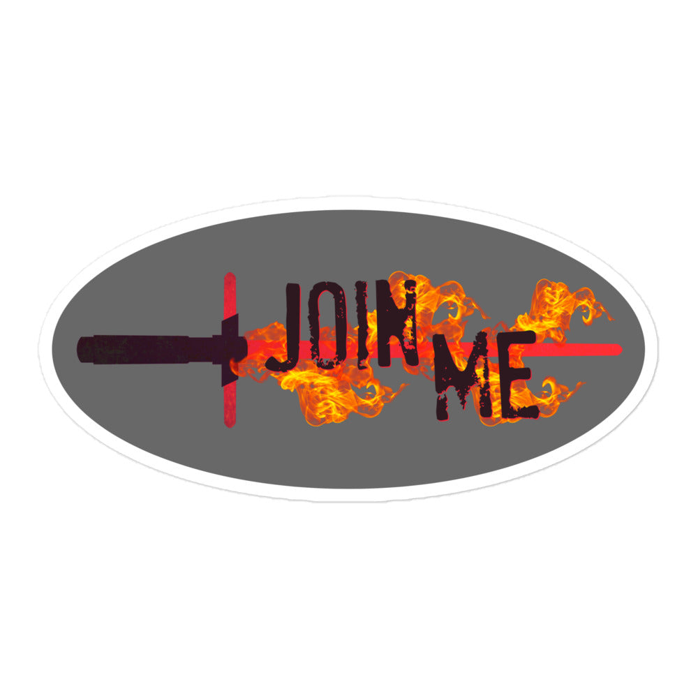 Join Me Kylo Sticker