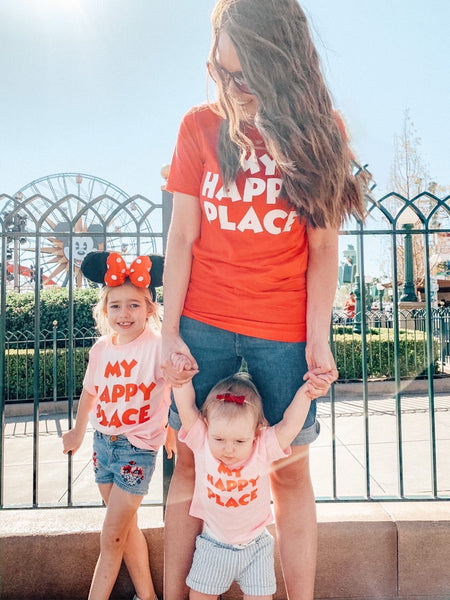 Kids My Happy Place Shirt