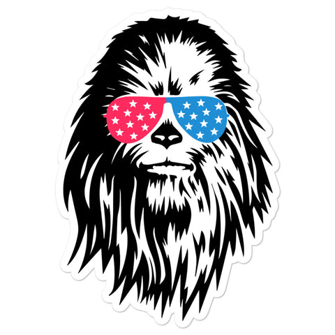 Red, White & Chew-ie Sticker