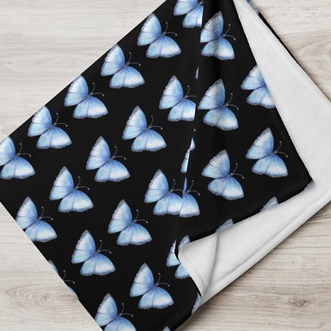 Save Ben Solo Blue Butterflies Blanket