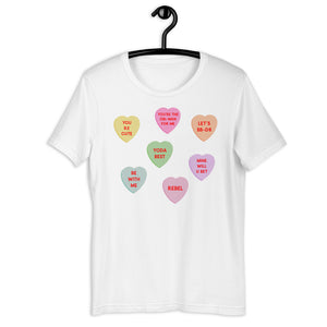 Star Wars Conversation Hearts Candy Tee