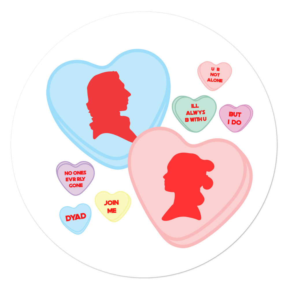 The Reylo Valentines Day Sticker