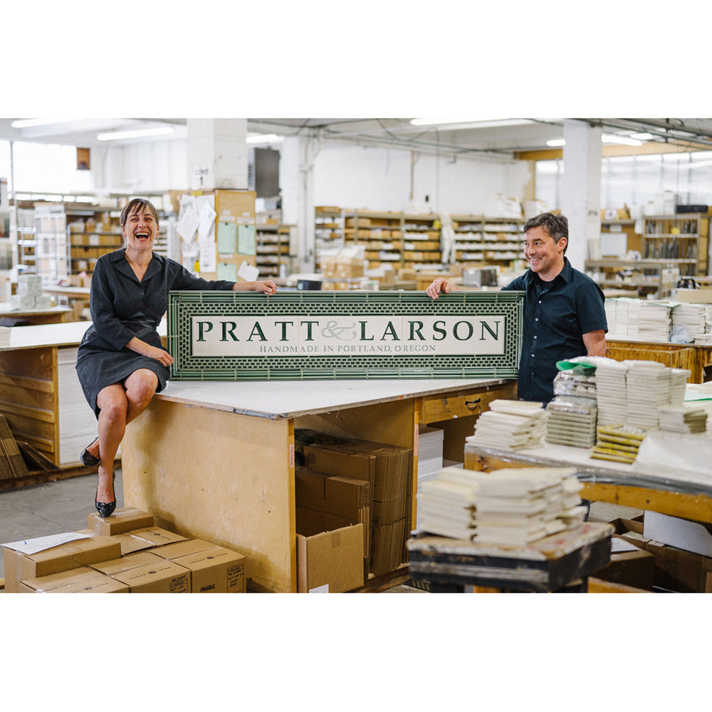 Pratt & Larson owners Belle and Anthony