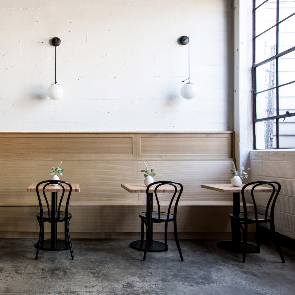 Interior Design by Casey Keasler of Casework Design for Justa Pasta Co., Photography by Carly Diaz