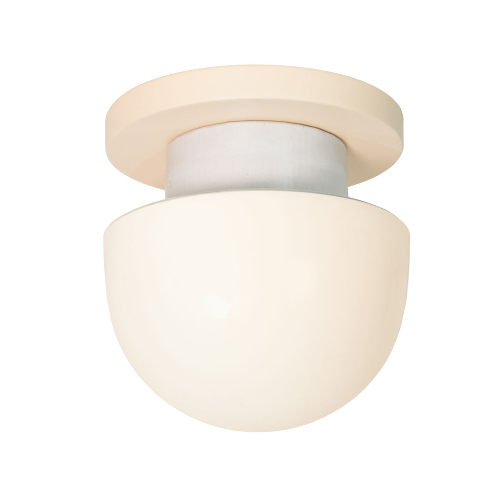 Anni wall or ceiling light. Shown in Blush finish. (LED light bulb included). Cedar and Moss.
