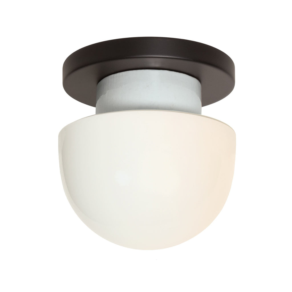 Anni wall or ceiling light. Shown in Matte Black finish. (LED light bulb included). Cedar and Moss.