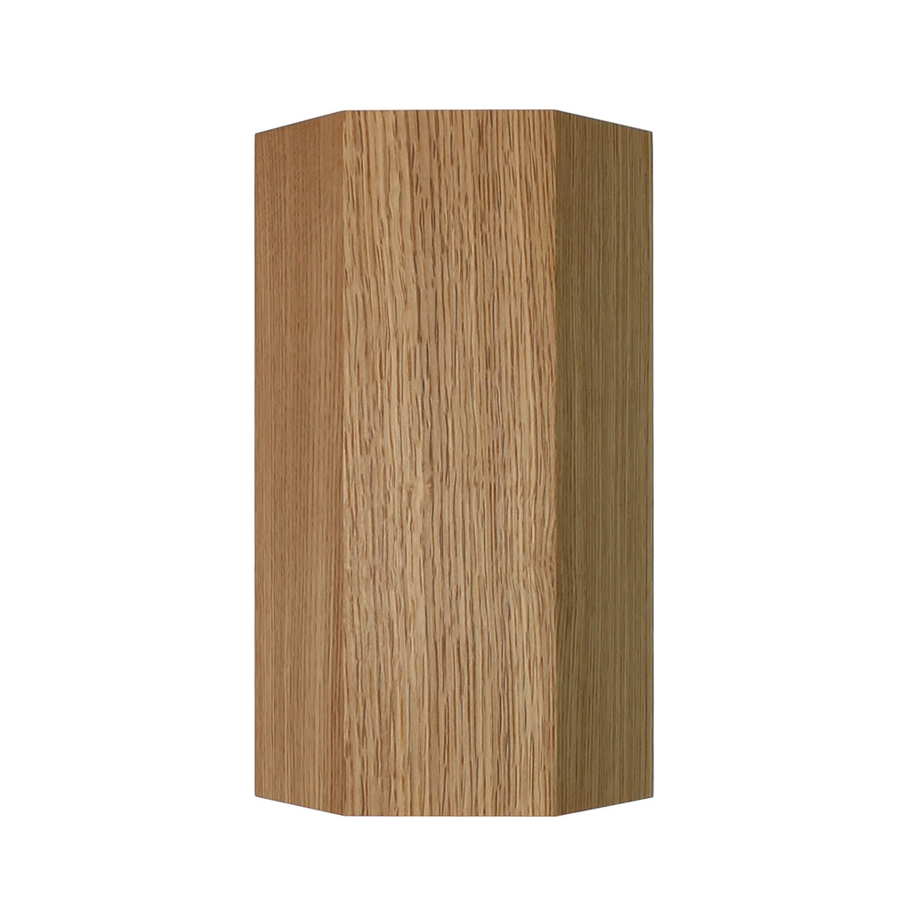 Woodland Viviane. Shown in White Oak Finish. Cedar and Moss.