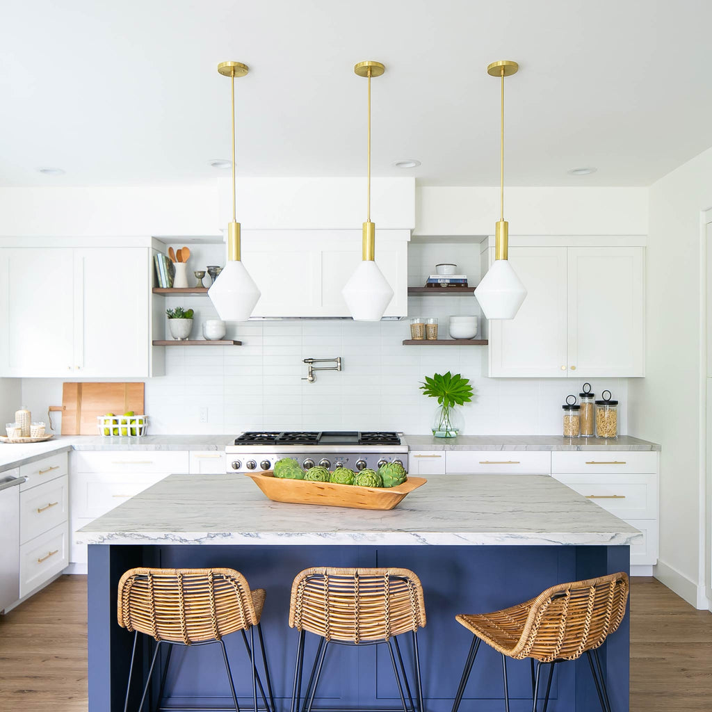 Aurora Pendant, Interior Design by Allison Merritt Design, Photography by Ryan Garvin