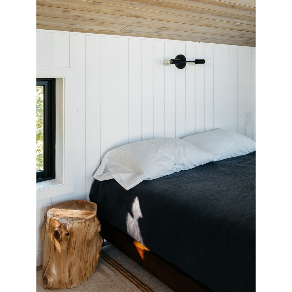Venus in matte black, Interior Design by The Klickitat Tree House, Photography by Corinne Kupish