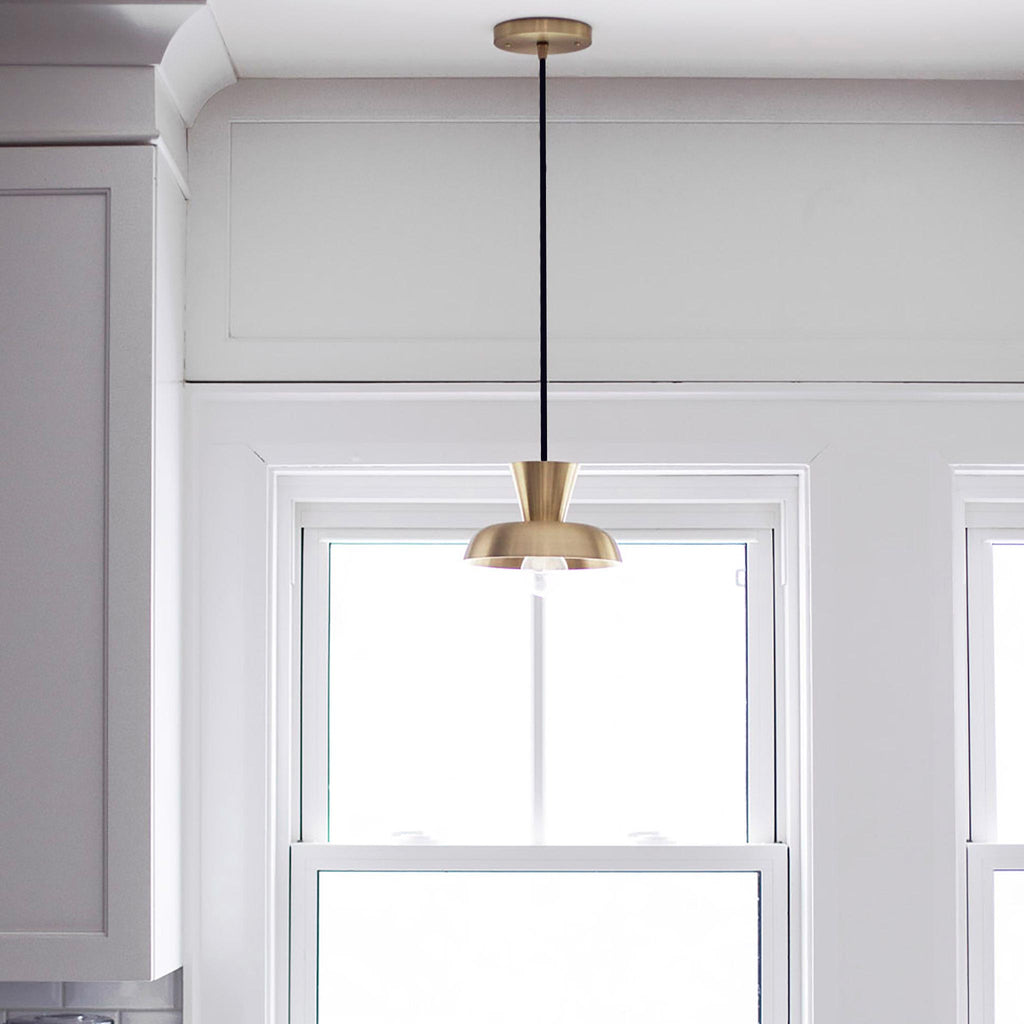 Isle Cord Pendant. Interior Design by Marcella DiLonardo. Cedar and Moss.