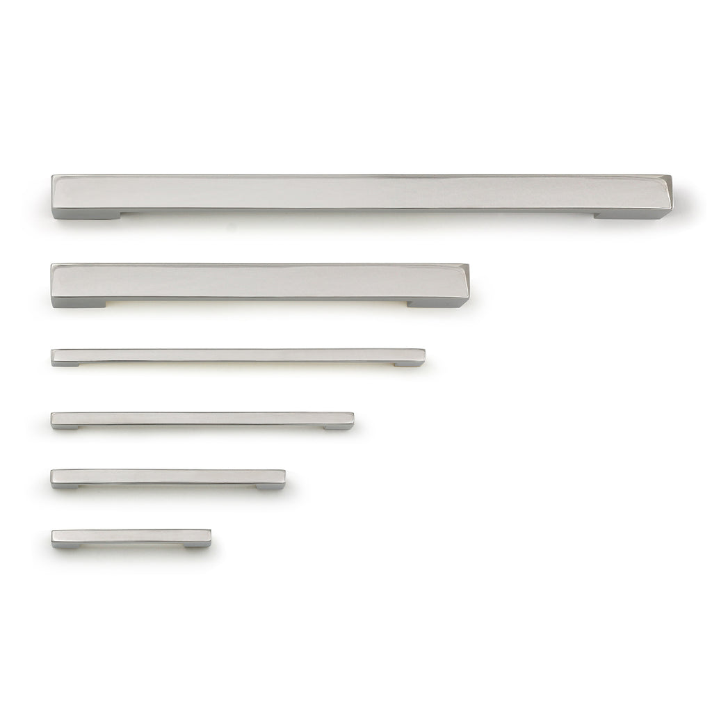 Louis Appliance Pull - Polished Nickel