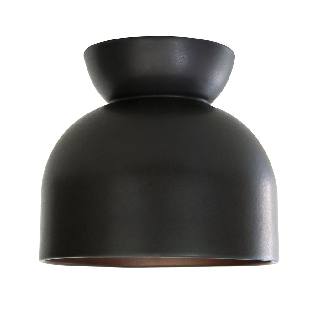 Cedar and Moss. Terra Surface. Shown in Eclipse Black. (G25 light bulb shown, not included).