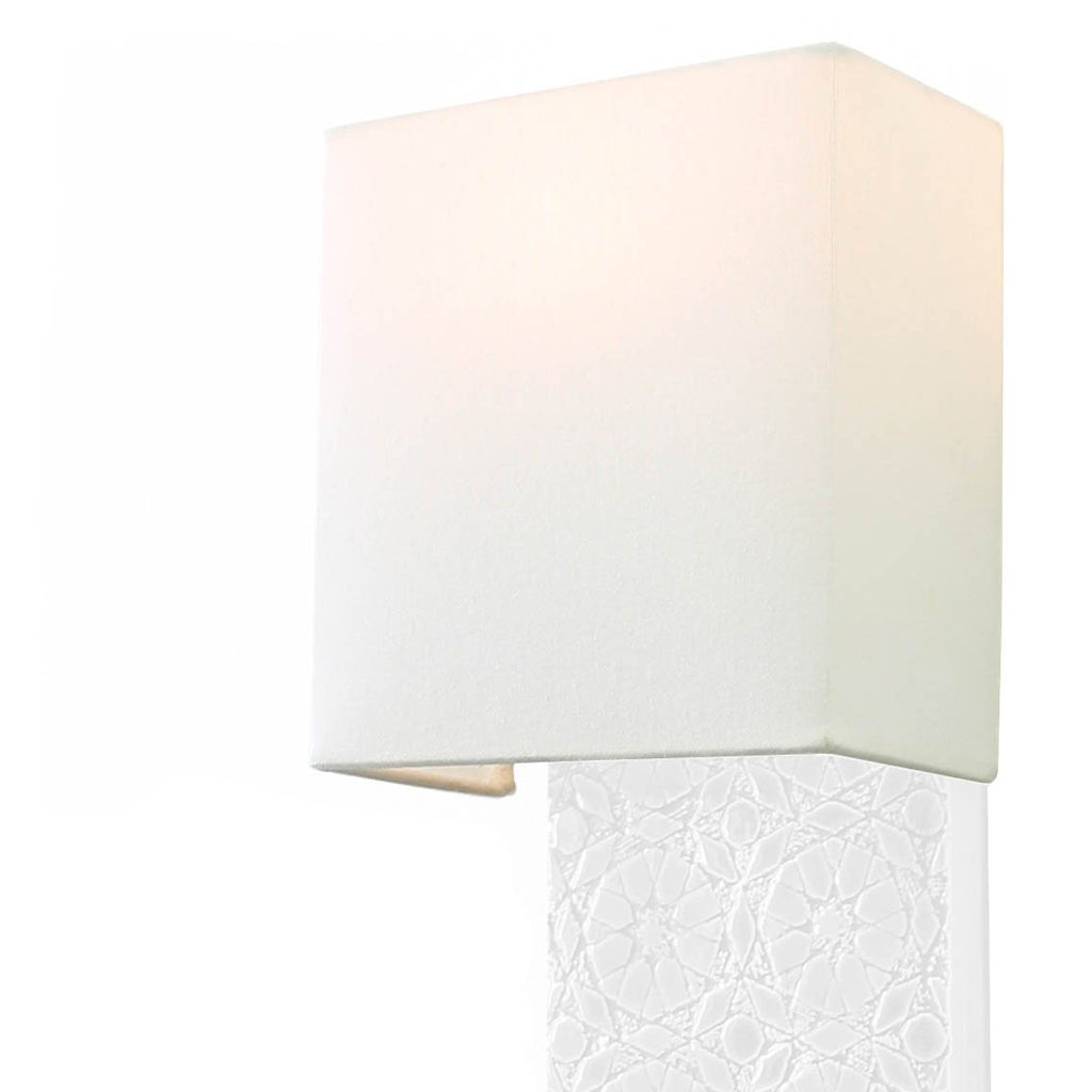 Rectangular Fabric Shade Replacement (fits Pratt, Izzy, and Asch Sconces)