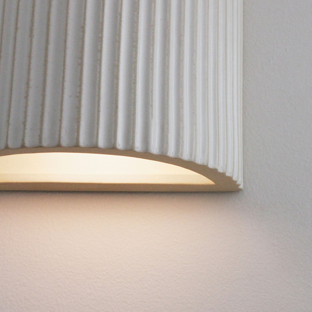 Cedar and Moss. Tumwater ADA Sconce. (2) G16.5 dimmable LED bulbs (included).