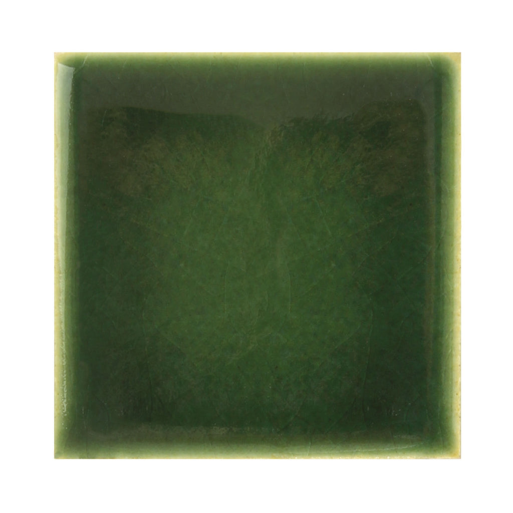 Clost-up sample of Forest Green Ceramic