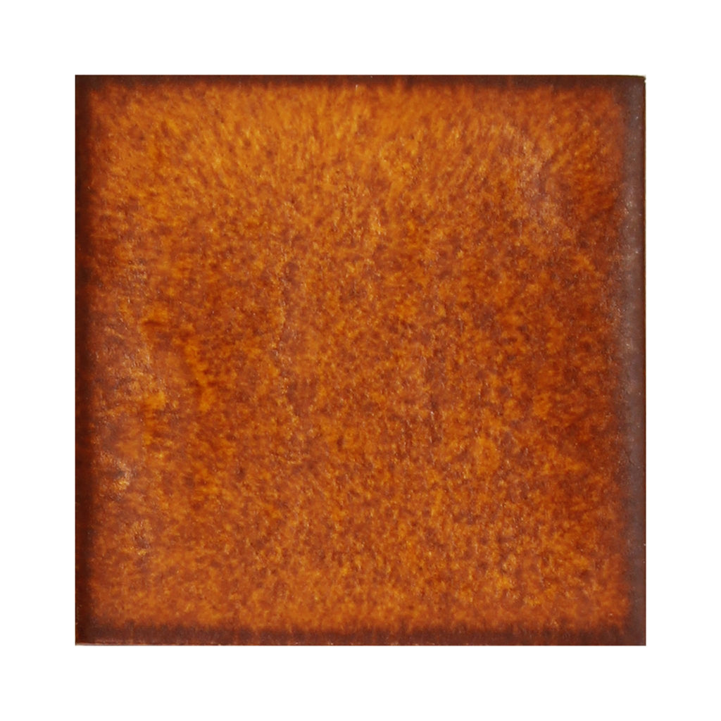 Close-up finish sample in Varied Rust Ceramic