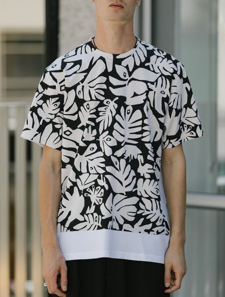 MARNI LEAVES PRINT TEE 4