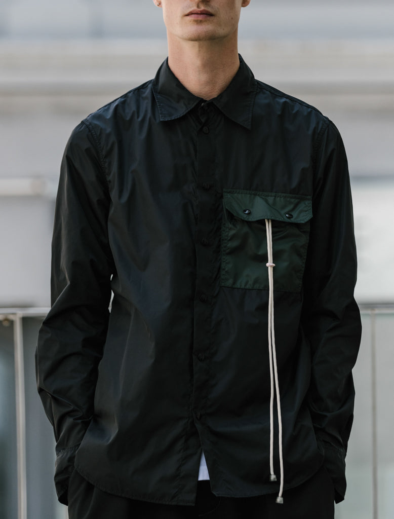 MARNI PACKABLE OVERSHIRT