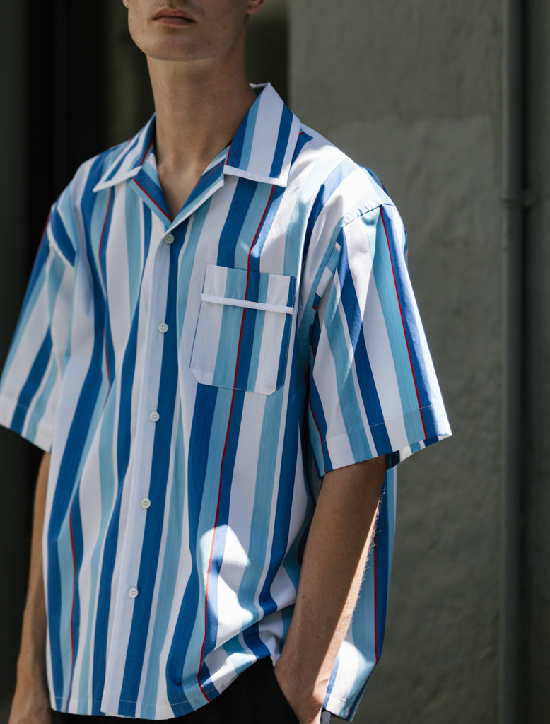 MARNI STRIPED SS SHIRT