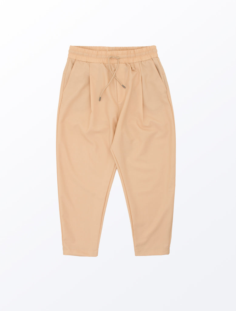 DDM CROPPED CARROT PANT BEIGE 1